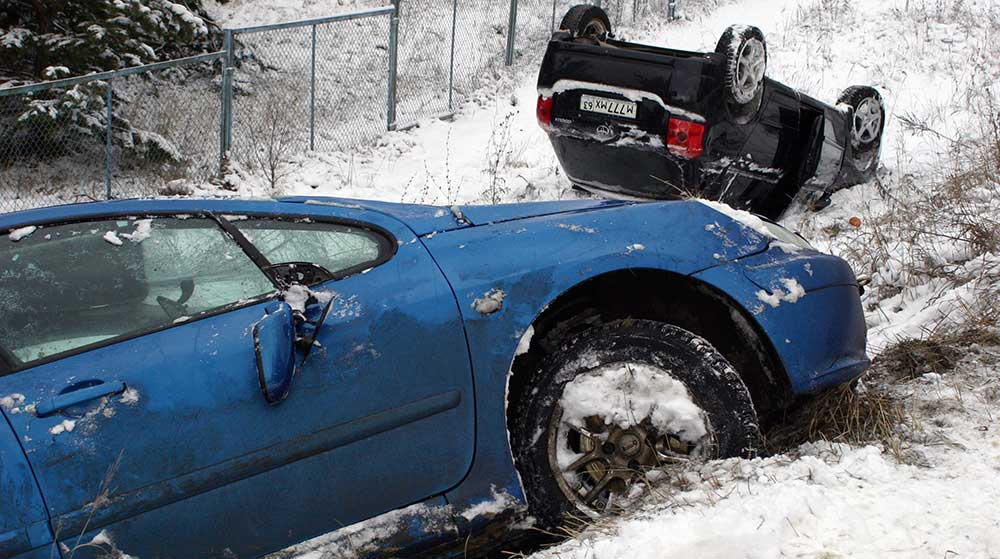 I was Hit by a Driver in the Snow. Is he Liable?
